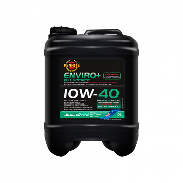 ENVIRO+ 10W-40 (Full Synthetic)