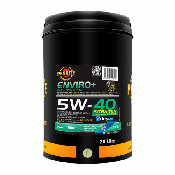ENVIRO+ 5W-40 (Full Synthetic)