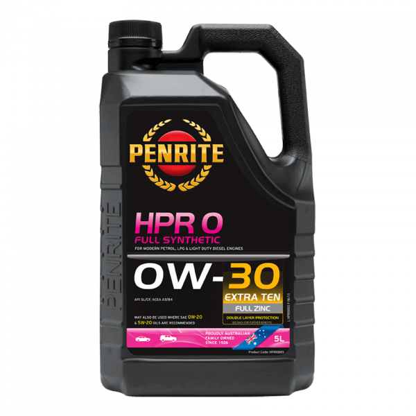 HPR 0 0W-30