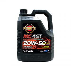 MC-4 V TWIN 20W-50 (100% PAO & ESTER)