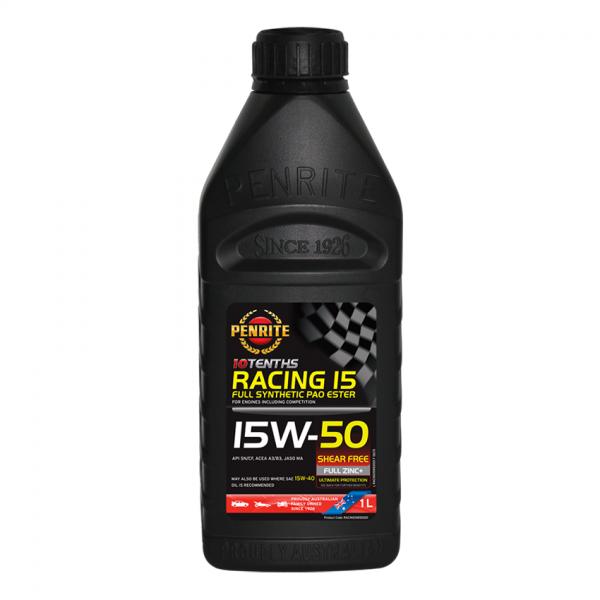 RACING 15W-50 (100% PAO ESTER)